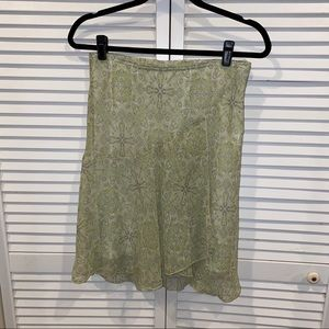 UO floral paisley high rise skirt md